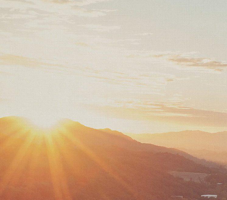 mountain-sunset